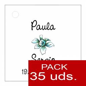 Etiquetas personalizadas - Etiqueta Modelo A15 (Paquete de 35 etiquetas 4x4)