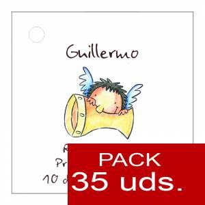 Etiquetas personalizadas - Etiqueta Modelo A17 (Paquete de 35 etiquetas 4x4)