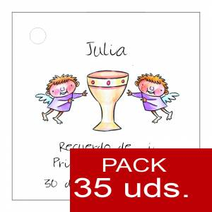 Etiquetas personalizadas - Etiqueta Modelo A18 (Paquete de 35 etiquetas 4x4)