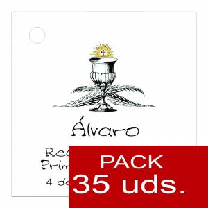 Etiquetas personalizadas - Etiqueta Modelo A20 (Paquete de 35 etiquetas 4x4)