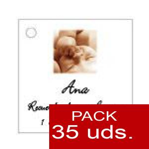 Imagen Etiquetas personalizadas Etiqueta Modelo A26 (Paquete de 35 etiquetas 4x4)