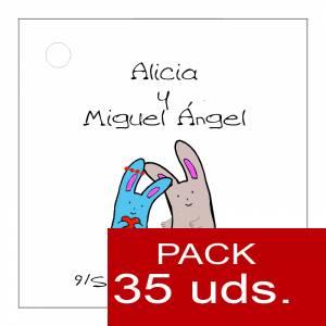 Etiquetas personalizadas - Etiqueta Modelo B13 (Paquete de 35 etiquetas 4x4)