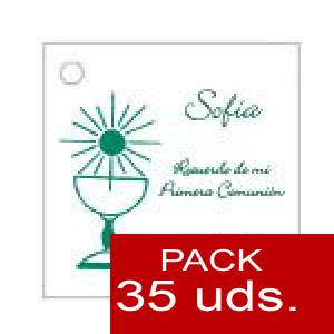 Imagen Etiquetas personalizadas Etiqueta Modelo B20 (Paquete de 35 etiquetas 4x4)