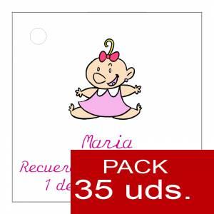 Etiquetas personalizadas - Etiqueta Modelo B24 (Paquete de 35 etiquetas 4x4)