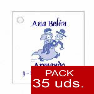 Imagen Etiquetas personalizadas Etiqueta Modelo C10 (Paquete de 35 etiquetas 4x4)