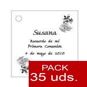 Imagen Etiquetas personalizadas Etiqueta Modelo C19 (Paquete de 35 etiquetas 4x4)