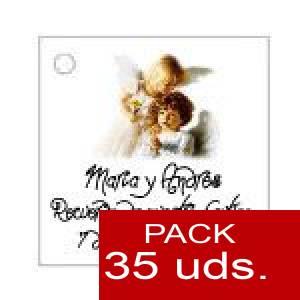 Imagen Etiquetas personalizadas Etiqueta Modelo C27 (Paquete de 35 etiquetas 4x4)