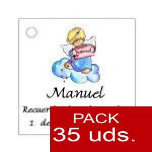 Imagen Etiquetas personalizadas Etiqueta Modelo D28 (Paquete de 35 etiquetas 4x4)
