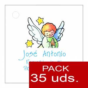 Etiquetas personalizadas - Etiqueta Modelo E15 (Paquete de 35 etiquetas 4x4)