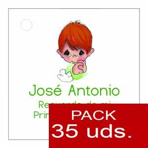 Etiquetas personalizadas - Etiqueta Modelo E16 (Paquete de 35 etiquetas 4x4)