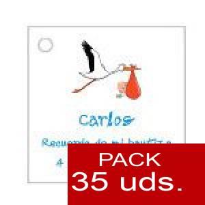 Imagen Etiquetas personalizadas Etiqueta Modelo E22 (Paquete de 35 etiquetas 4x4)