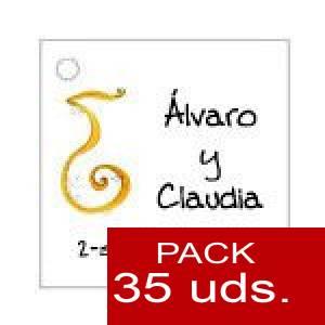 Imagen Etiquetas personalizadas Etiqueta Modelo F05 (Paquete de 35 etiquetas 4x4)