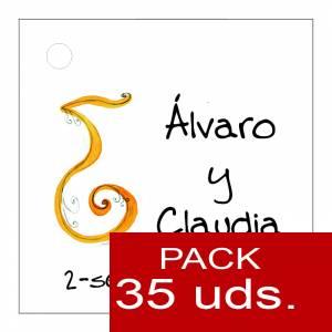 Etiquetas personalizadas - Etiqueta Modelo F05 (Paquete de 35 etiquetas 4x4)