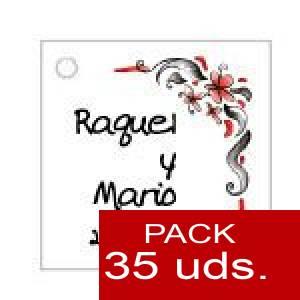 Imagen Etiquetas personalizadas Etiqueta Modelo F08 (Paquete de 35 etiquetas 4x4)