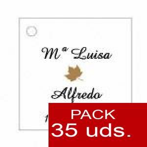Imagen Etiquetas personalizadas Etiqueta Modelo F10 (Paquete de 35 etiquetas 4x4)