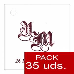 Etiquetas personalizadas - Etiqueta Modelo F11 (Paquete de 35 etiquetas 4x4)
