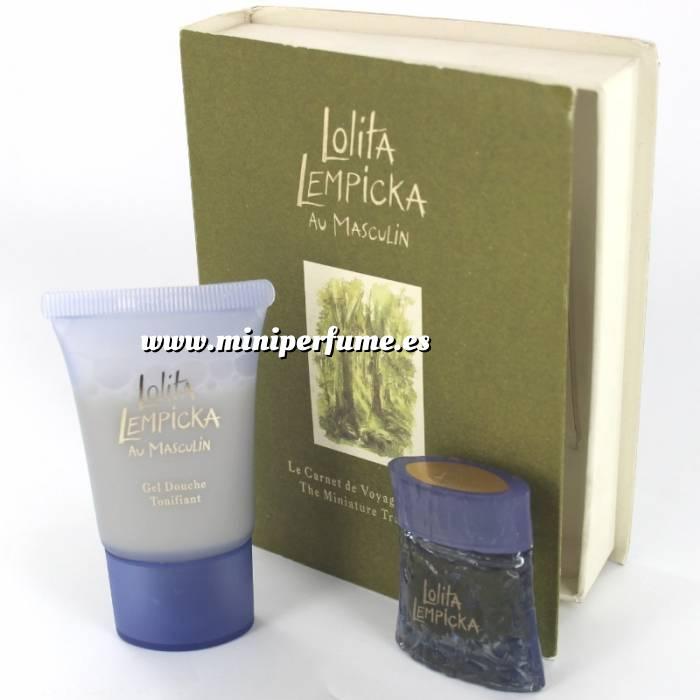 Imagen EDICIONES ESPECIALES Lolita Lempicka Au Masculin Eau de Toilette 5ml. más Gel Douche 20ml. (EDICIÓN ESPECIAL - Travel Book) (Últimas Unidades)