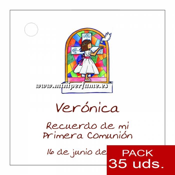 Imagen Etiquetas impresas Etiqueta Modelo B21 (Paquete de 35 etiquetas 4x4)