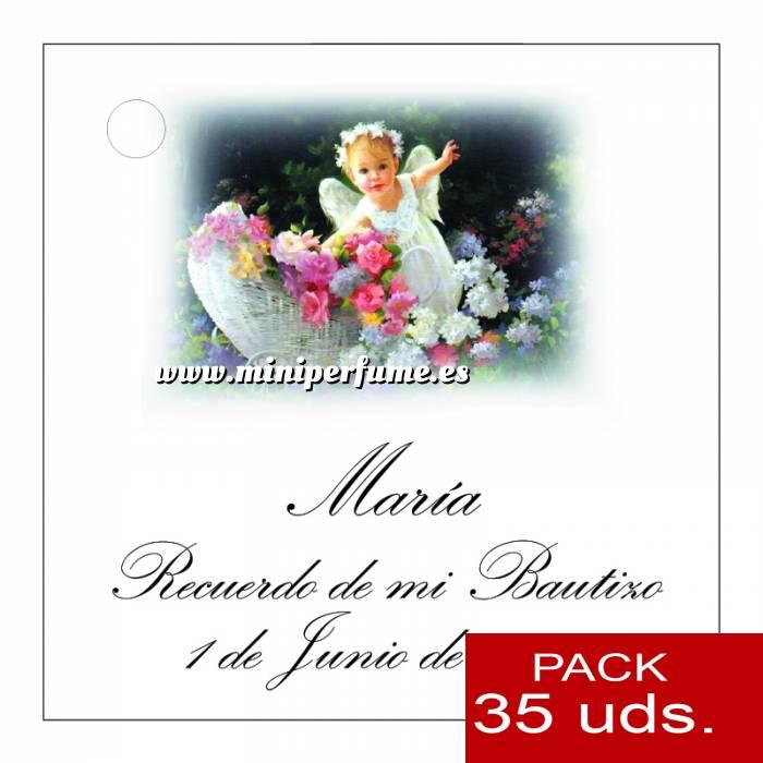 Imagen Etiquetas impresas Etiqueta Modelo B25 (Paquete de 35 etiquetas 4x4)