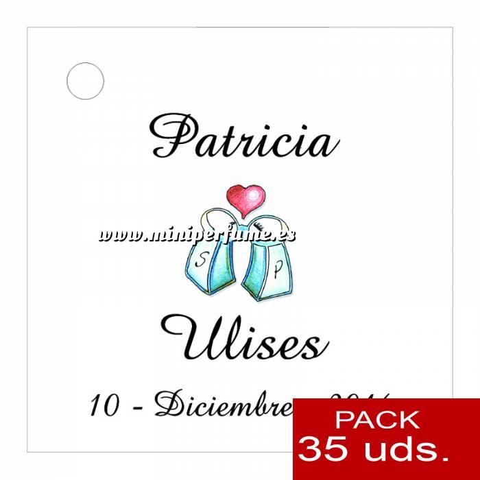 Imagen Etiquetas impresas Etiqueta Modelo F04 (Paquete de 35 etiquetas 4x4)