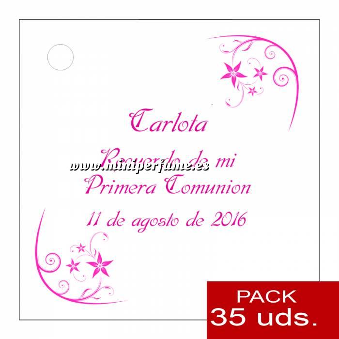 Imagen Etiquetas impresas Etiqueta Modelo F19 (Paquete de 35 etiquetas 4x4)