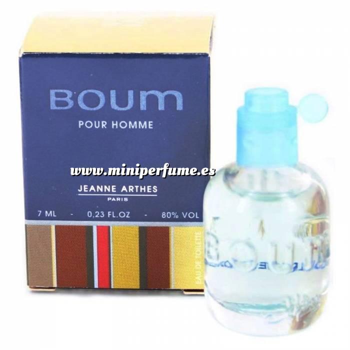 Imagen -Mini Perfumes Hombre Boum Pour Homme by Jeanne Arthes 7ml. (Últimas unidades)