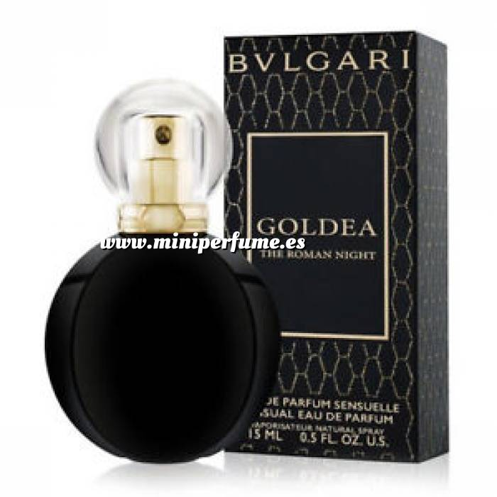 Imagen -Mini Perfumes Hombre Bvlgari Goldea The Roman Night EDP VAPO by Bvlgari 15ml. (Últimas Unidades)