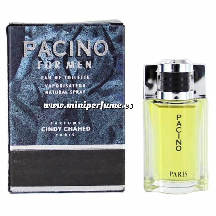 Imagen -Mini Perfumes Hombre Pacino for men Eau de Toilette by Cindy Chahed 5ml. (Últimas Unidades)