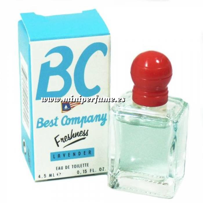 Imagen -Mini Perfumes Mujer Best Company Freshness Lavender Eau de Toilette 4.5ml. (Ideal Coleccionistas) (Últimas Unidades)