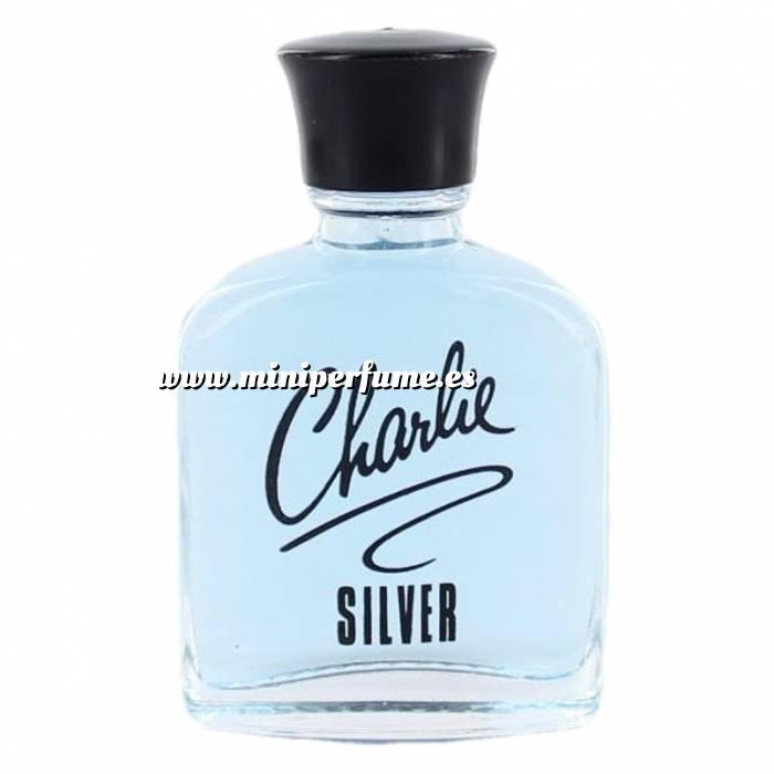Imagen -Mini Perfumes Mujer Charlie Silver Azul (sin caja) (Últimas Unidades)