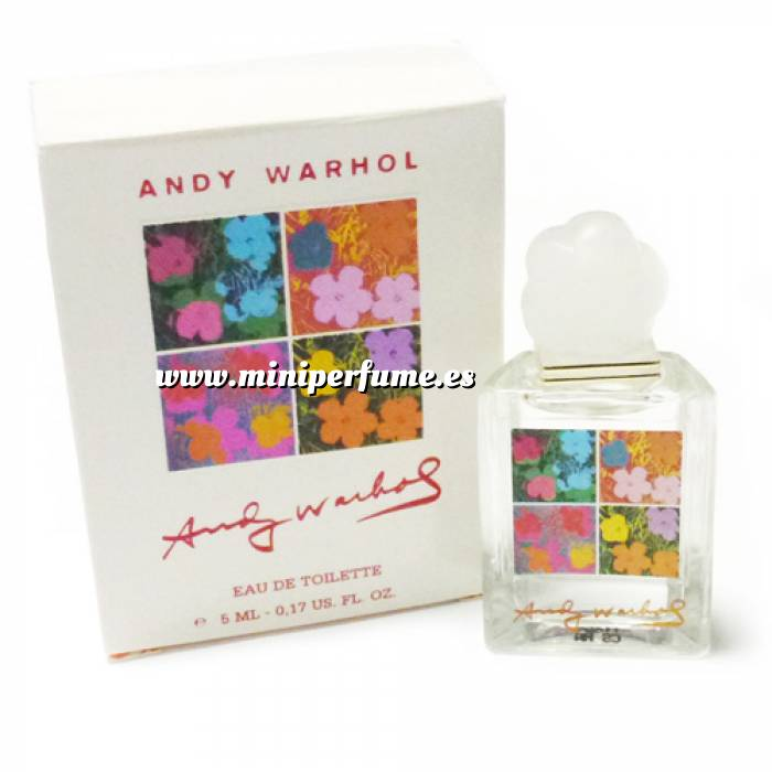 Imagen -Mini Perfumes Mujer Flowers Eau de Toilette by Andy Warhol 5ml. (Caja grande) (Últimas Unidades)
