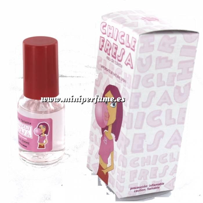 Imagen -Mini Perfumes Mujer Fragancia Dulce Eau de toilette - Chicle Fresa 20ml. (Últimas Unidades)