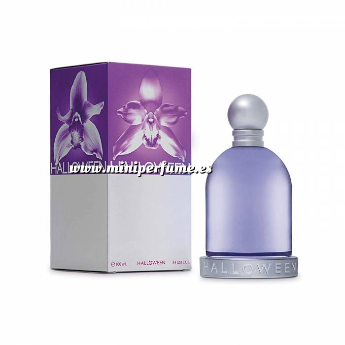 Imagen -Mini Perfumes Mujer Halloween Eau de Toilette de Jesús del Pozo 4,5ml.