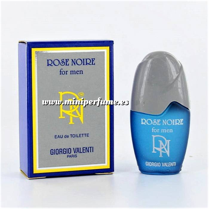 Imagen -Mini Perfumes Mujer Rose Noire for men Eau de Toilette by Giorgio Valenti 5ml. (Últimas Unidades)