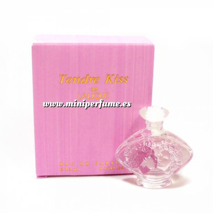 Imagen -Mini Perfumes Mujer Tendre Kiss Eau de Parfum by Lalique 4,5ml.