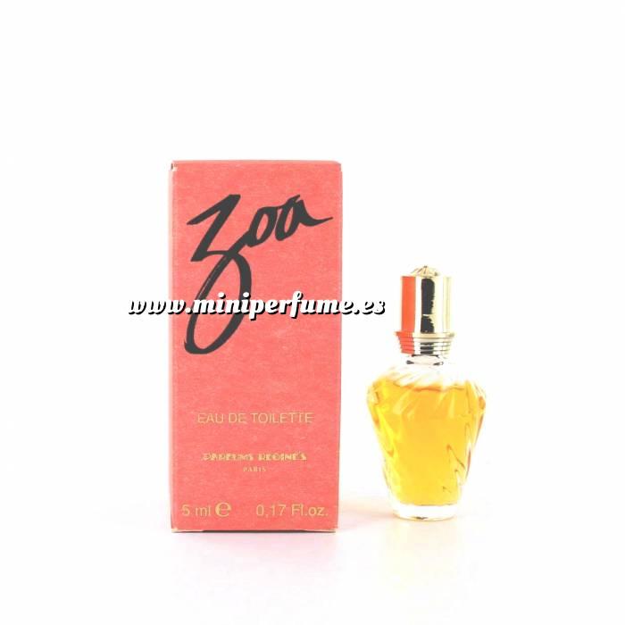 Imagen -Mini Perfumes Mujer Zoa Eau de Toilette by Parfums Regine 5ml. (Últimas unidades)
