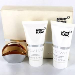 EDICIONES ESPECIALES - Presence d Une Femme Eau de Toilette + Gel + Body Lotion by Mont Blanc (EDICIÓN ESPECIAL) (Últimas Unidades)