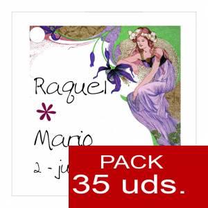 Etiquetas impresas - Etiqueta Modelo A10 (Paquete de 35 etiquetas 4x4)