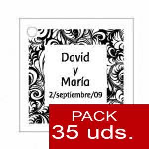 Imagen Etiquetas impresas Etiqueta Modelo A13 (Paquete de 35 etiquetas 4x4)