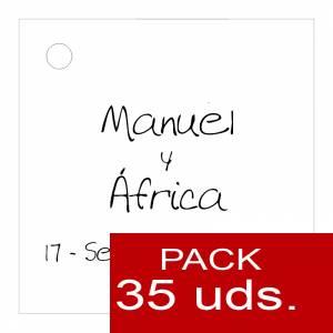 Etiquetas impresas - Etiqueta Modelo B04 (Paquete de 35 etiquetas 4x4)