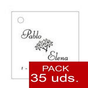 Imagen Etiquetas impresas Etiqueta Modelo C02 (Paquete de 35 etiquetas 4x4)