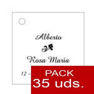 Imagen Etiquetas impresas Etiqueta Modelo C03 (Paquete de 35 etiquetas 4x4)