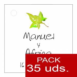 Etiquetas impresas - Etiqueta Modelo C07 (Paquete de 35 etiquetas 4x4)