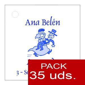 Etiquetas impresas - Etiqueta Modelo C10 (Paquete de 35 etiquetas 4x4)