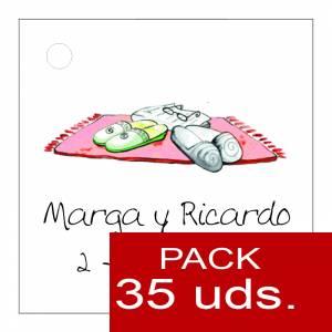 Etiquetas impresas - Etiqueta Modelo D05 (Paquete de 35 etiquetas 4x4)