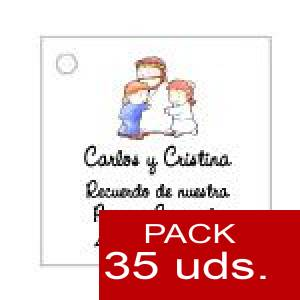 Imagen Etiquetas impresas Etiqueta Modelo D18 (Paquete de 35 etiquetas 4x4)