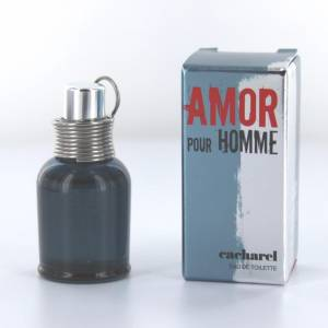 Mini Perfumes Hombre - Amor Pour Homme EDT by Cacharel 5ml. (Últimas Unidades)