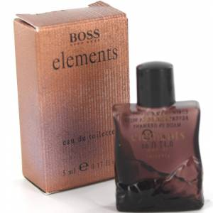 Mini Perfumes Hombre - Boss Elements Eau de Toilette by Hugo Boss 5ml. (Últimas Unidades)