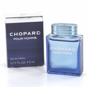 Mini Perfumes Hombre - Chopard pour Homme Eau de Toilette by Chopard 5ml. (Últimas unidades)