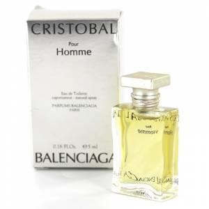 Mini Perfumes Hombre - Cristobal Pour Homme Eau de Toilette by Balenciaga 5ml. (Últimas Unidades)